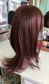 layered red hair wig in Camp Lejeune, North Carolina