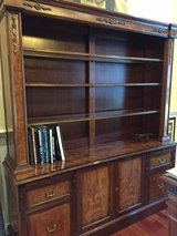 Credenza with bookcase in Naperville, Illinois