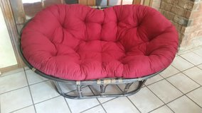 Bamboo Papasan Loveseat in Spring, Texas