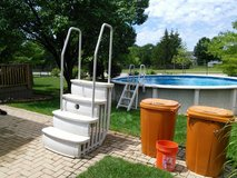 Pool Stairs in Tinley Park, Illinois