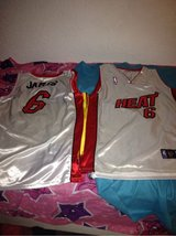 2 Lebron James jerseys in Ramstein, Germany