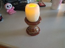 Flameless Candle and Candle Holder in Manhattan, Kansas