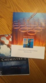COD Principles of Chemistry I books for Chemistry 1551 in Naperville, Illinois