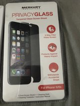 iPhone 6/6s privacy glass screen shield in Fort Riley, Kansas