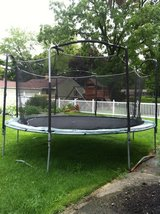 15' Trampoline with Safety Netting in Naperville, Illinois
