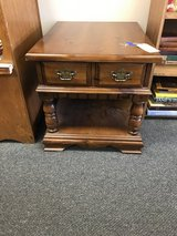 Pine End Table in Bartlett, Illinois