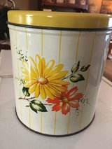 1950's Decoware Tin Canister in Fort Campbell, Kentucky