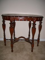 ANTIQUE VICTORIAN 6 LEG PARLOR TABLE in Fort Rucker, Alabama