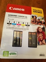 Canon 5 pk Ink for Pixma Printers (printer models listed) in Bolingbrook, Illinois