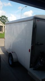 Used Carry-On Trailer 6-ft x 12-ft Enclosed Trailer in Baytown, Texas