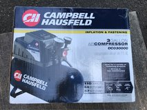 Campbell air compressor (new) in Quantico, Virginia