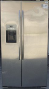 25 CU. FT. GE PROFILE SIDE-BY-SIDE REFRIGERATOR (FINANCING) in San Diego, California