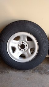 Spare tire for 2006 Jeep Wrangler. P215 75 R15 in Warner Robins, Georgia
