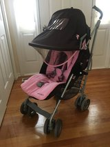 Maclaren stroller pink and brown techno xlr in Bolingbrook, Illinois