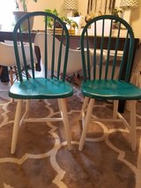 2 chairs nicely painted in Fort Drum, New York