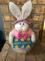 Fiber Optic Easter Bunny in Alamogordo, New Mexico