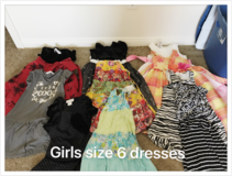 Girls dresses in Fort Irwin, California