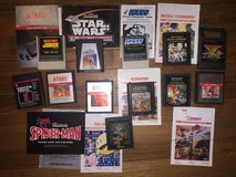 12 Atari Games w/Manuals!!! in Fort Leonard Wood, Missouri