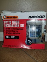 Patio Door or Picture Window Insulation Kit in Kingwood, Texas
