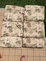 Patio chair cushions in Okinawa, Japan