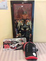 Signed NASCAR memorabilia in Okinawa, Japan