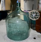 Vintage large glass Jug in Okinawa, Japan