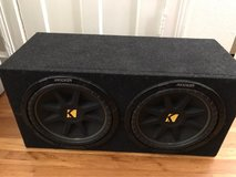 "2 kicker 12"" subwoofer in Fort Sam Houston, Texas"