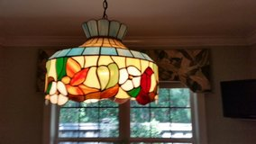 Stained Glass chandlier in Wilmington, North Carolina