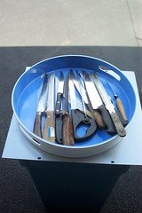 A BUNCH OF BUTCHER KNIVES in Bartlett, Illinois