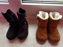Baby girl boots in Baumholder, GE