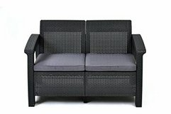 New Outdoor Loveseat with Cushions in Bolingbrook, Illinois