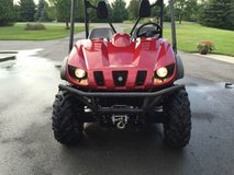 2009 Yamaha Rhino 700 4x4 Sport Edition Midnight Red Armor in Bellaire, Texas