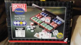 Bicycle poker set in Alamogordo, New Mexico