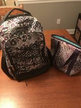 Backpack with matching insulated lunch box in Warner Robins, Georgia