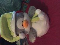 Light up stuffed penguin in Plainfield, Illinois