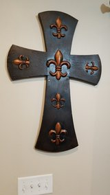Two Large Matching Wall Crosses in Fort Polk, Louisiana
