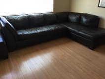 Leather Sectional Couch - Ashley Signature Design in Travis AFB, California