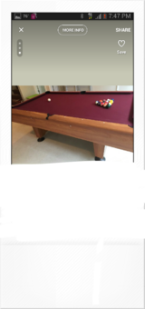 Pool table / billiard table in Bolingbrook, Illinois