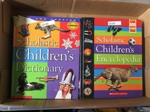 Scholastic children's dictionary and Encyclopedia in Naperville, Illinois