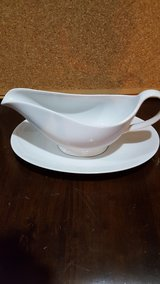 white gravy boat in Oswego, Illinois