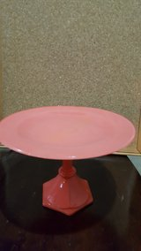 coral colored serving plate #2 in Lockport, Illinois