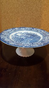 blue serving plate in Lockport, Illinois