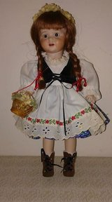 Handmade Porcelain Bisque Doll GRETEL in Yorkville, Illinois