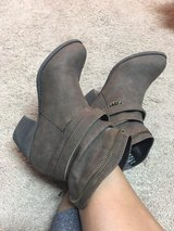 brown booties in Pearland, Texas