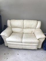 Leather Love Seat in Eglin AFB, Florida