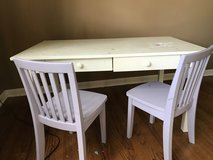 Pottery Barn Kids Desk w/chairs in Bolingbrook, Illinois