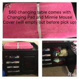 Changing table with pad and cover in Watertown, New York