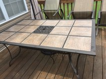 Patio table and chairs in Fort Campbell, Kentucky