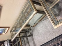 REDUCED - 3 Piece Heavy Iron Tables in Yucca Valley, California