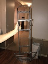 Decorative Rod Iron towel rack in Leesville, Louisiana
